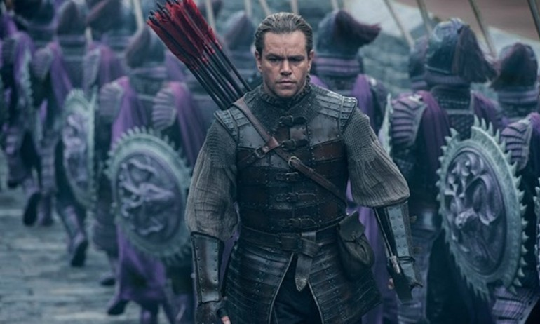 Matt Damon khac la trong phim The Great Wall