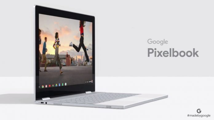 Google phan phoi laptop Pixel Book kem tro ly ao Assistant