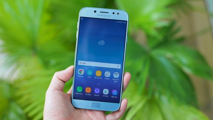 Galaxy J7 Pro cap nhat android 8