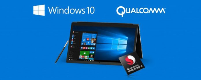 Laptop Windows 10 dung chip Qualcomm Snapdragon 835