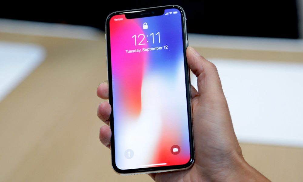nang cap IOS voi iphone x
